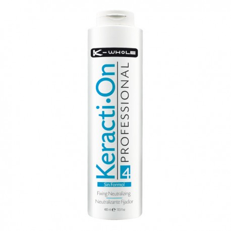 NEUTRALIZANTE CON KERATINA 400 ML K-WHOLE